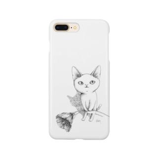 シロネコ宅急便 Smartphone cases