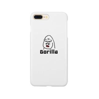 ゴリラのゴリオ Smartphone cases