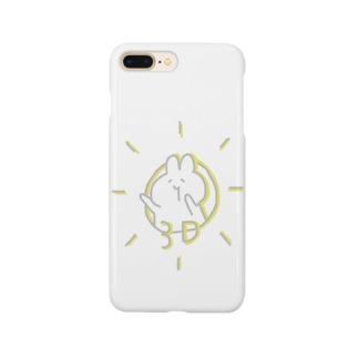 3Dうさぎさん Smartphone cases
