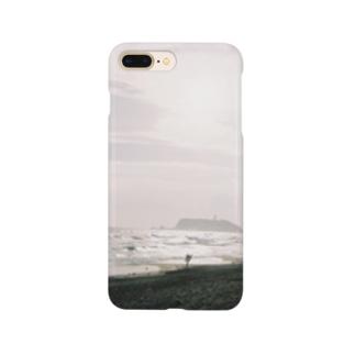 冬の七里ヶ浜 Smartphone cases