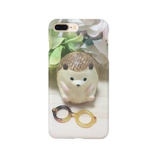 はりねずみ木内さん Smartphone cases