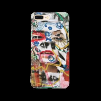chisacollageのCuriosidadl Smartphone cases