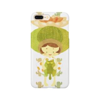 サボテン少女 Smartphone cases