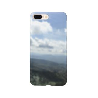 山と青空 Smartphone cases