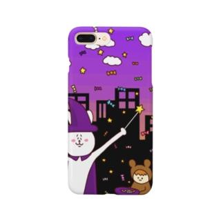 うさぎハロウィン_iphone5/7/7-plus用 Smartphone cases