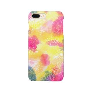 春の宇宙 Smartphone cases