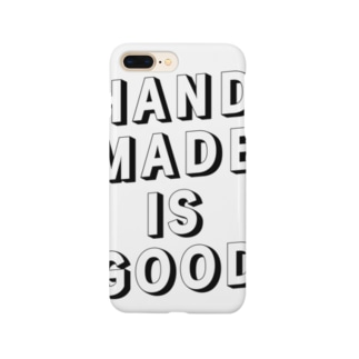 HANDMADE IS GOOD Smartphone cases