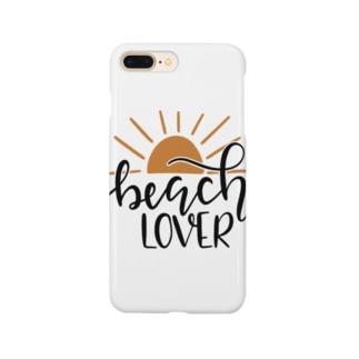 ビーチラバーズ Smartphone cases