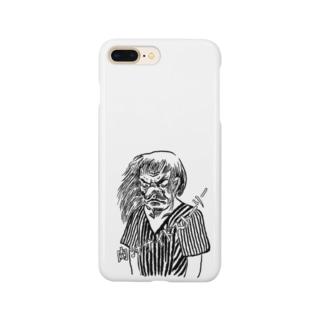 天狗るんげ Smartphone cases