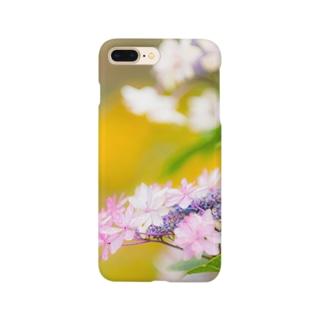 あじさい02 Smartphone cases