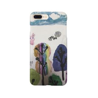 「なないろのもり」 Smartphone cases