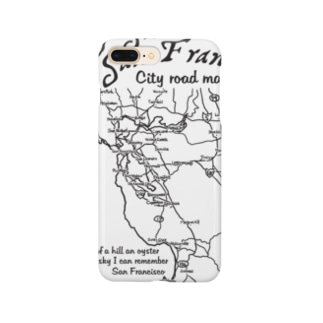 CITY ROAD MAP Smartphone cases