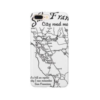 CITY ROAD MAP スマートフォンケース