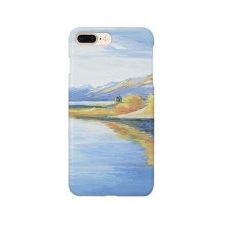 テカポ湖 Smartphone cases