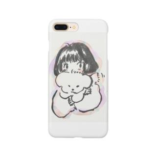 いぬ_ふわふわ_ボブ Smartphone cases