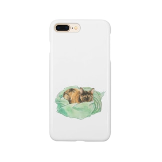 Keeping cats warm Smartphone cases