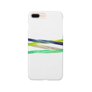 四色線 スマートフォンケース