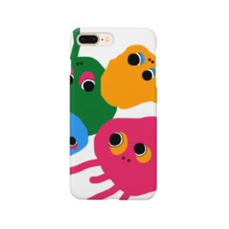 クラゲ星人 Smartphone cases