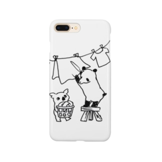 お洗濯偏食ブラザーズ Smartphone cases