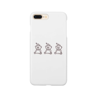 がりがりしろくま Smartphone cases