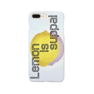 レモンisスッパイスマホケース Smartphone cases