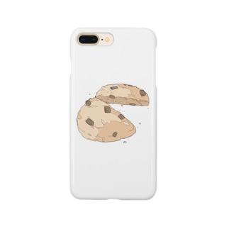 割れたクッキー Smartphone cases