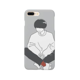 チラ見せ Smartphone cases