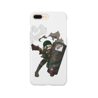 ミリムス盾子 Smartphone cases