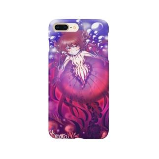 クラゲ子 Smartphone cases
