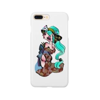 花魁 シリーズ(リクエスト) Smartphone cases