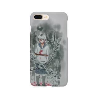 鎖の少女 Smartphone cases