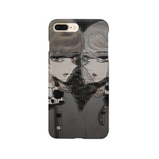 月光ちゃんくん Smartphone cases