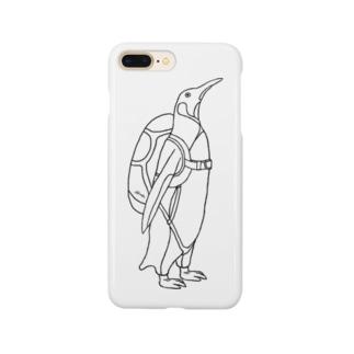 ペンギン スカイダイビング Smartphone cases