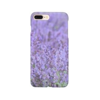 ラベンダーのスマホケース Smartphone cases