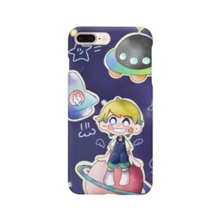 大きくなったら宇宙飛行士 Smartphone cases