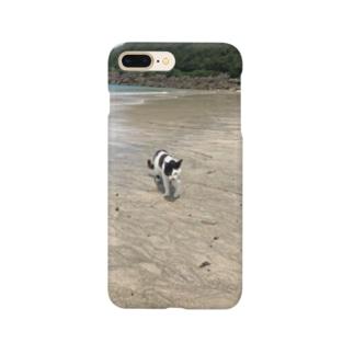 種子島ネコ Smartphone cases