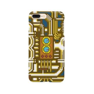 BF配管 ゴールド スマートフォンケース