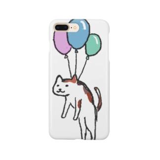 フーセン(ネコ) Smartphone cases