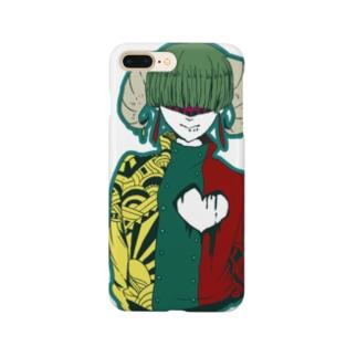 ツノ Smartphone cases