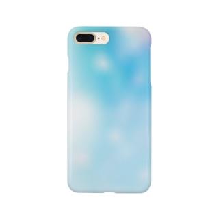 朝の水面 Smartphone cases