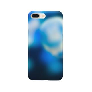 青色海月 Smartphone cases