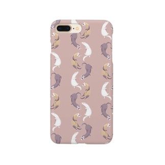 ferret(pink brown) Smartphone cases