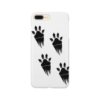 走り抜ける犬 Smartphone cases