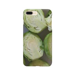 いざ調理!芽キャベツくん Smartphone cases