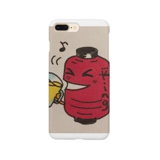 呑兵衛な赤提灯 Smartphone cases