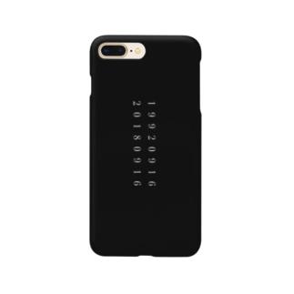 19920916-20180916 Black Smartphone cases