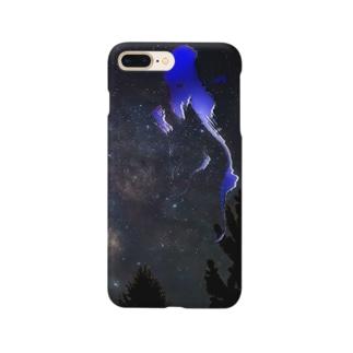 青い月 Smartphone cases