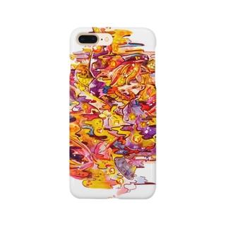 夜に溶けるスマホケース Smartphone cases