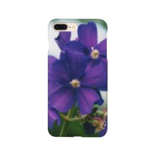 ヴァイオレットが咲いている Smartphone cases