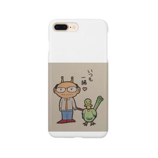 酒呑みオヤジくん Smartphone cases